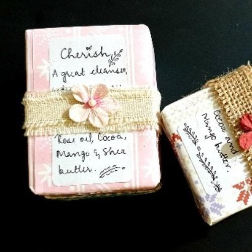 Cherish - Rose Soap - Reduce Tan