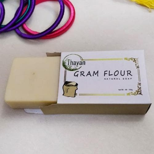 Gram Flour Soap - Reduces Oil