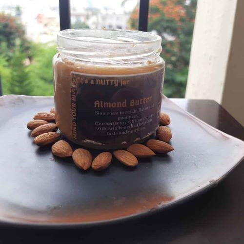 Natural Almond Butter (Unsweetened)