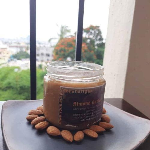 Natural Almond Butter (Sweetened)