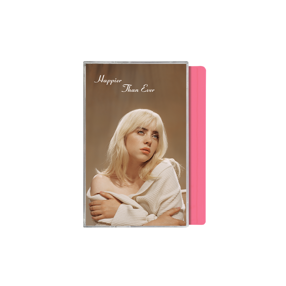 """Happier Than Ever"" Pink Cassette"