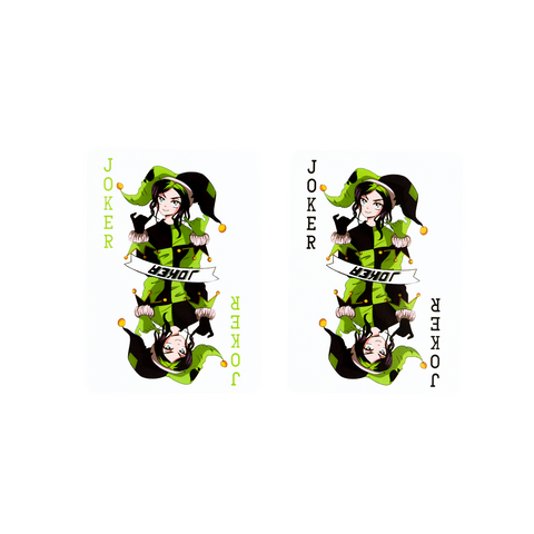 Billie Eilish Playing Cards