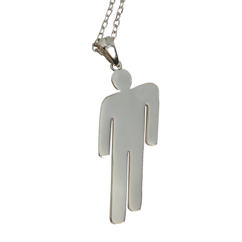 Blohsh Pendant Stainless Steel Necklace
