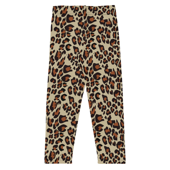 Girls Leopard Print Leggings (2T-7)