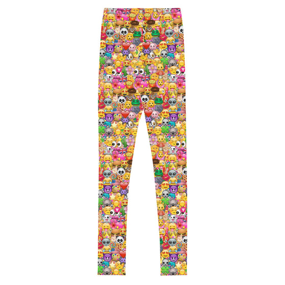 Tween Emoji Print Leggings (8-20)