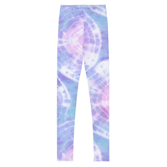Girls Tween Pastel Tie Dye Leggings