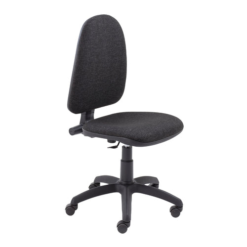 Zoom 1 Lever High back Charcoal - Clearance Office Furniture