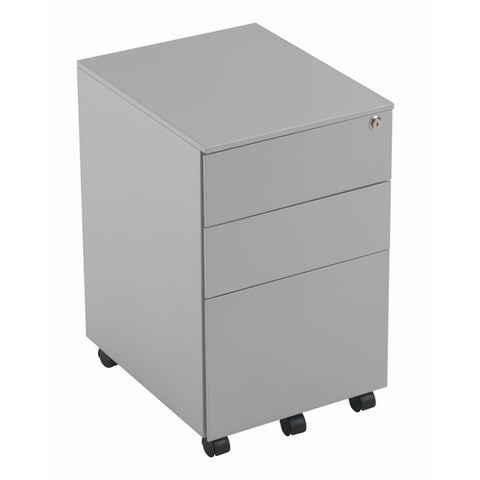 3 Drawer Under Desk Steel Pedestal