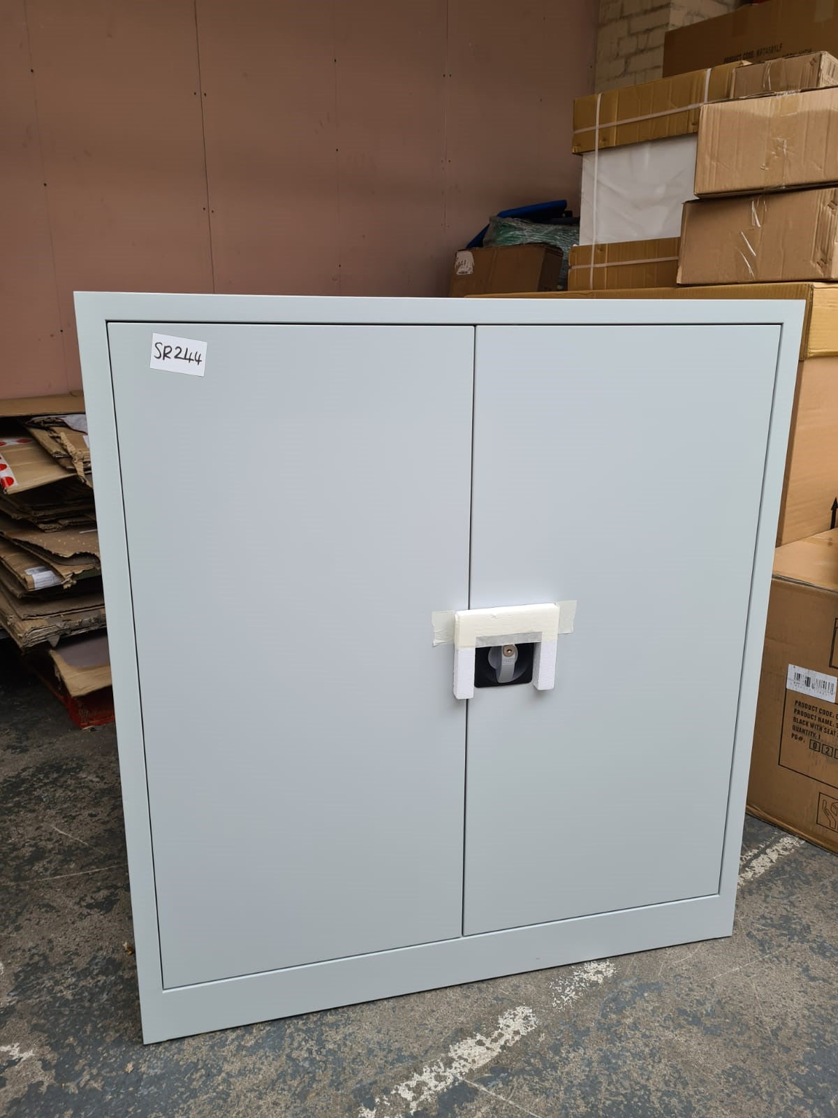 Grey 1000mm Cupboard