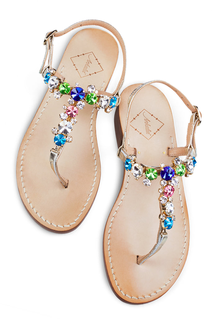 Isabella Multicoloured Sandal