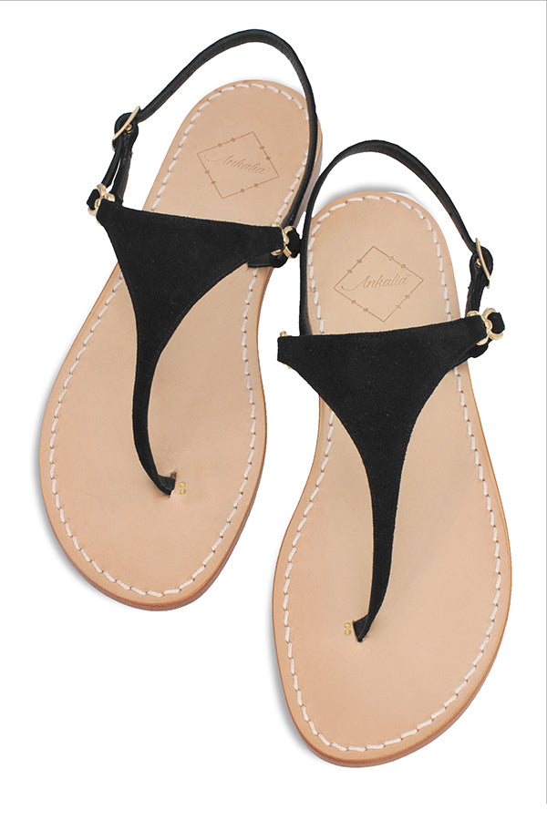 Lisa Black Sandal
