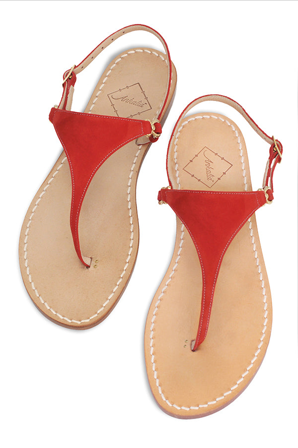 Lisa Red Sandal