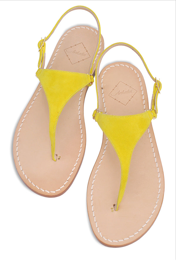 Lisa Yellow Sandal