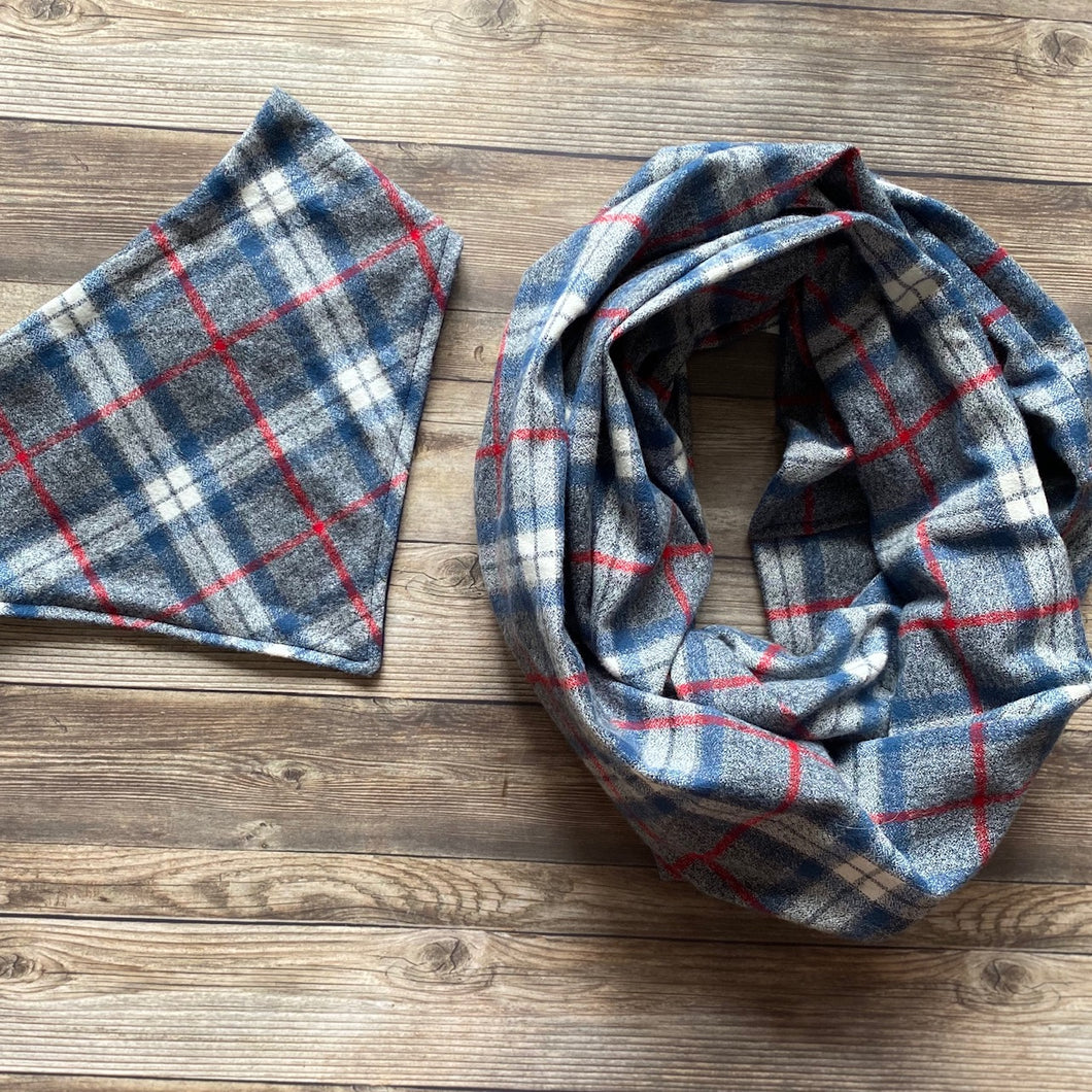 Matching Flannel Infinity Scarf