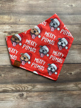 Load image into Gallery viewer, Merry Pitmas Christmas Bandana