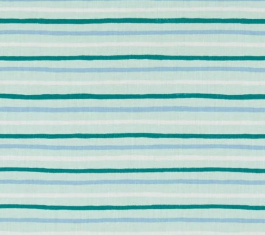 Mint Stripes Bandana