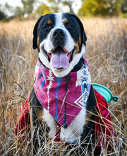 Load image into Gallery viewer, Pimento Flannel Bandana