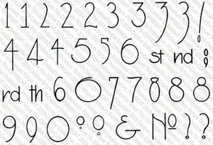 037 Deco Numbers