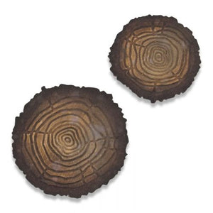 664232 Sizzix Bigz Die Tree Rings Mini