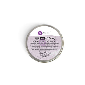964269 Art Alchemy Opal Magic Wax Blue Velvet