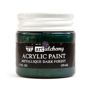 964481 Art Alchemy Metallique Dark Forest