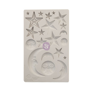966638 Mould 5 x 8 Star and Moons