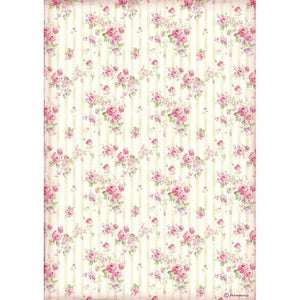 DFSA4505 Rice Paper A4 Rose Wallpaper