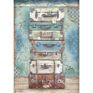 DFSA4547 Rice Paper A4 Atelier des Arts Luggage
