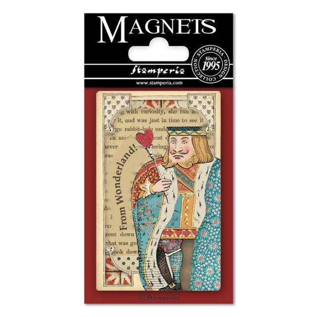 EMAG012 Magnet 8x5.5 cm Queen of Hearts
