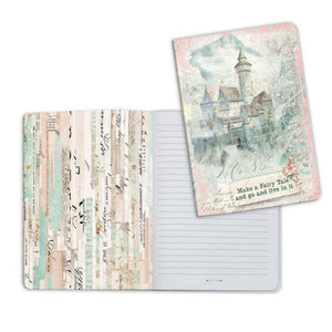 ENBA5007 Notebook A5 Wonderland Fantasy Castle