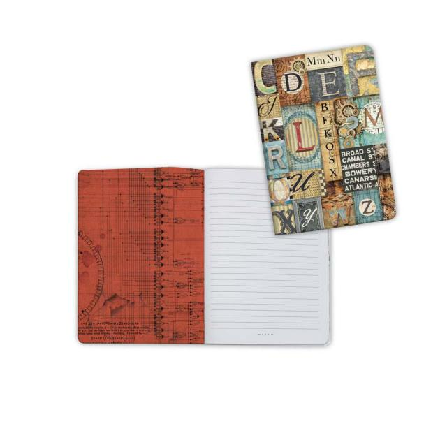 ENBA6002 Notebook A6 Mechanical Fantasy Letters
