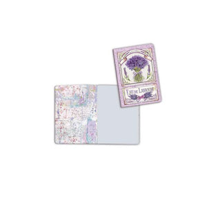 ENBA6024 Notebook A6 Lavender Bouquet