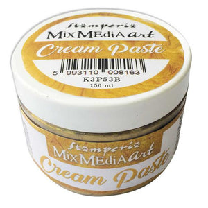 K3P53B Cream Paste Metallic 150ml Gold