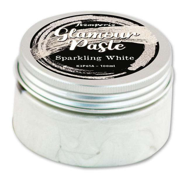 K3P61A Glamour Paste 100ml Sparkling White