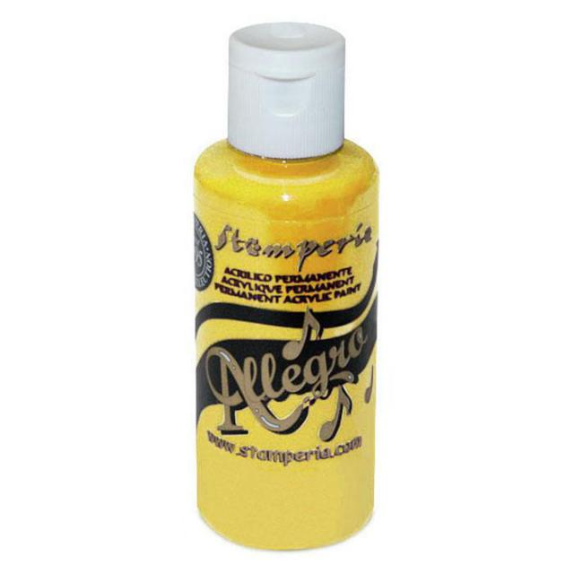 KAL10 Allegro Acrylic Paint Yellow