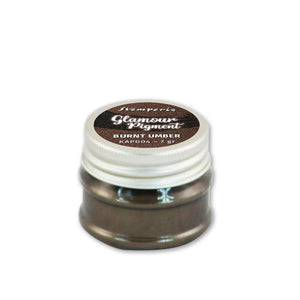 KAPG04 Glamour Powder Pigment Burnt Umber