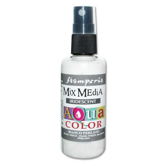 KAQ019 Aquacolor Spray Bianco Perlato