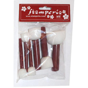 KRK03 Sponge Brushes PK/5 Assorted