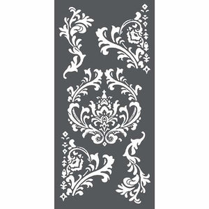KSTDL19 Thick Stencil 12x25 Decorations