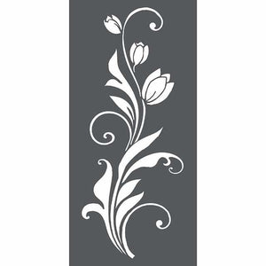 KSTDL26 Thick Stencil 12x25 Tulip Decoration
