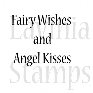 LAV292 Fairy Wishes Large 1.18x1.38""