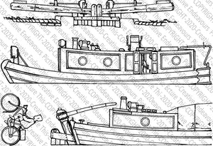 065 Narrowboats Two