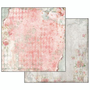 SBB497 Double Sided Single Sheet Dream Texture with Rose