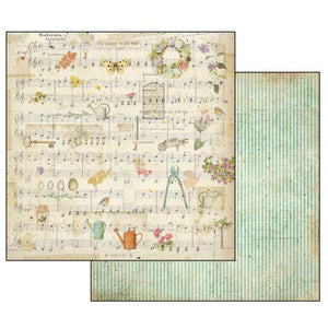 SBB556 Double Sided Single Sheet Score and Watering Can