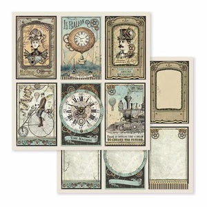 SBB601 Double Sided Single Sheet Voyages Fantastiques Cards