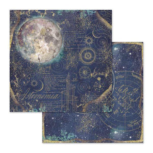SBB614 Double Sided Single Sheet Cosmos Astral