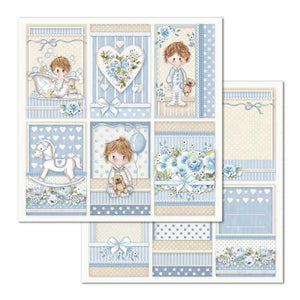 SBB683 Double Sided Single Sheet Little Boy Frames