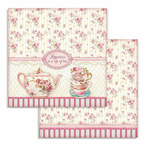 SBB736 Double Sided Single Sheet Cup of Tea