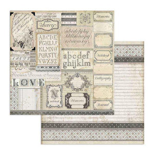 SBB739 Double Sided Single Sheet Patchwork of Labels