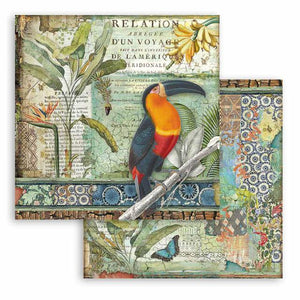 SBB765 Double Sided Single Sheet Amazonia Toucan